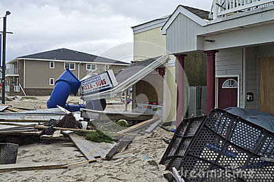 Sandy Belmar Destruction Editorial Image