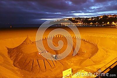 Sandy dragon