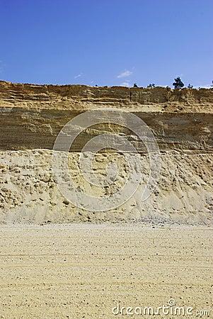 Sandy pit