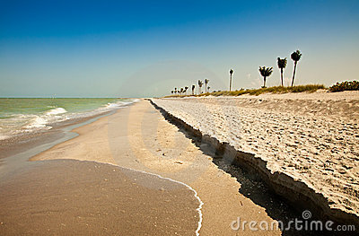 Sanibel florida пляжа