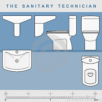 The sanitary technician