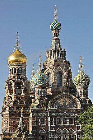 Sankt Petersburg church of the spilled blood