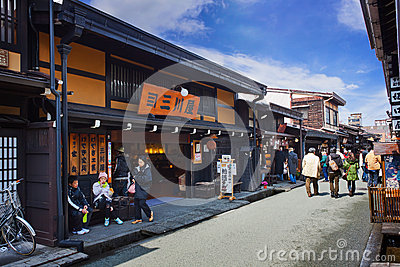 Sannomachi Street Editorial Photo