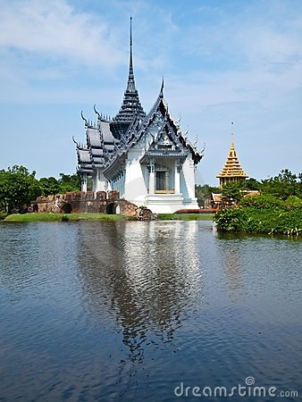 Free Sanphet Prasat Palace At Ancient Siam City Stock Image - 19272581