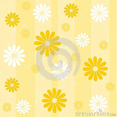 Sans joint floral de fond