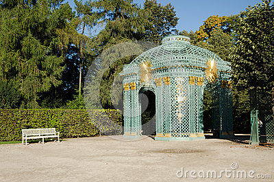 Sans Souci Gardens Editorial Stock Image