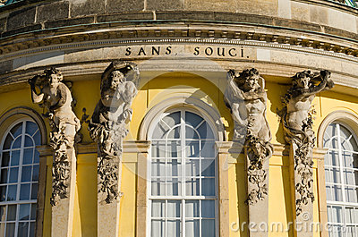 Sans Souci Editorial Stock Photo
