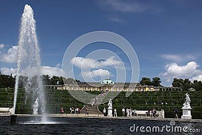 Sanssouci park Editorial Photography