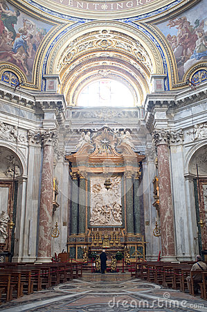 Sant Agnese in Agone in Rome Editorial Image