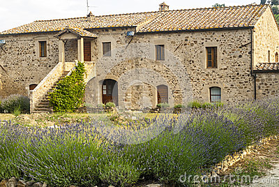 Sant Antimo - Ancient house with lavender