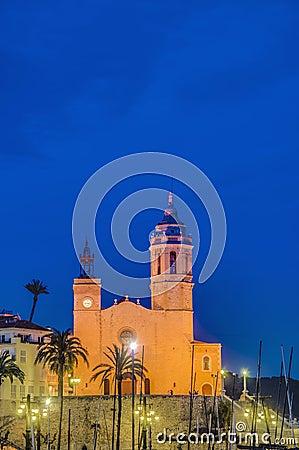 Sant Bartomeu i Santa Tecla at Sitges, Spain