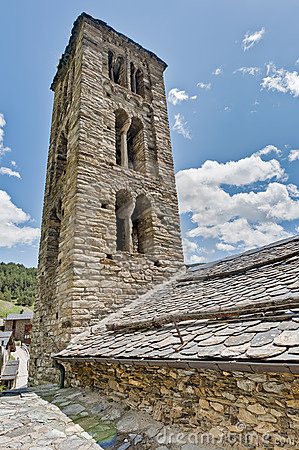 Sant Climent church at Pal, Andorra