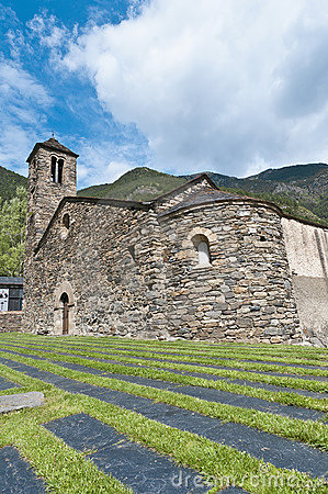 Sant Marti at La Cortinada, Andorra