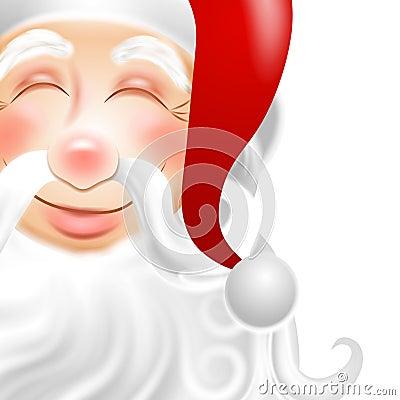 στενό santa προσώπου 2 Claus επάνω