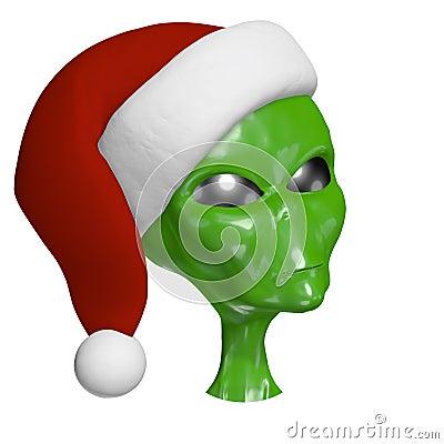 Santa Alien 2
