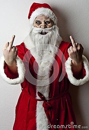 Santa assustador