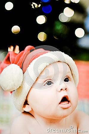 Santa Baby FAce Amazed