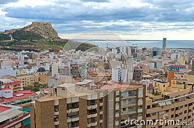 Santa Barbara Caste, Alicante, Spain