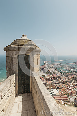 Santa Barbara Castle in Alicante