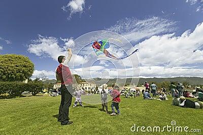 Santa Barbara Kite Festival Editorial Stock Photo