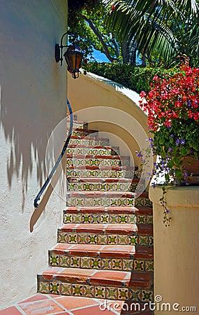 Santa Barbara staircase