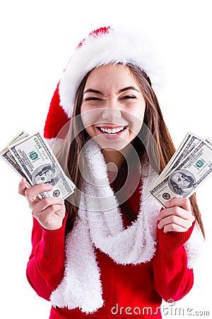 Santa Brought Banknotes