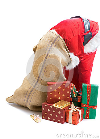 Santa cannot find a gift