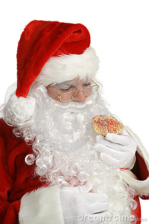 Santa Cheats on Diet