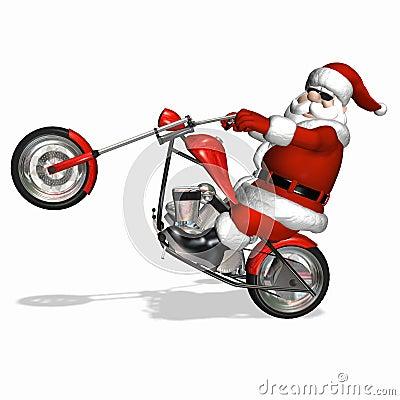 Free Santa Chopper 4 Stock Photos - 3532743