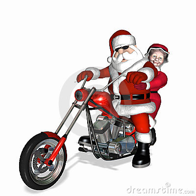 Santa Claus Bike Stock Photos, Images, & Pictures - 607 Images