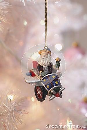 Santa Christmas Ornaments