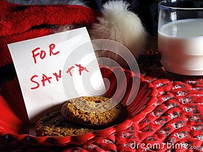 Santa ciasteczka