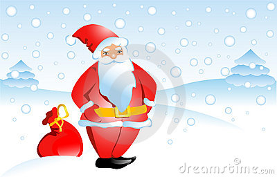Santa Claus Royalty Free Stock Images - Image: 12109989