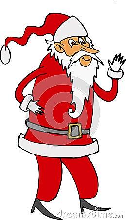Free Santa Claus Royalty Free Stock Photography - 1451617
