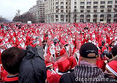 Santa claus Editorial Stock Image