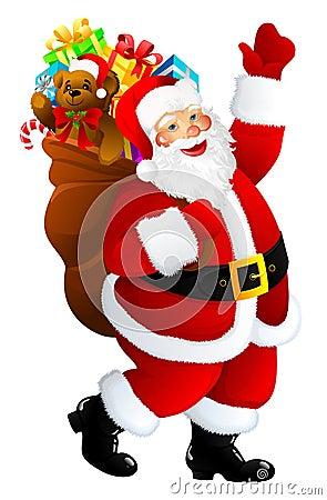 Free Santa Claus Royalty Free Stock Photography - 6632777