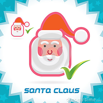 Santa Claus Accept Icon