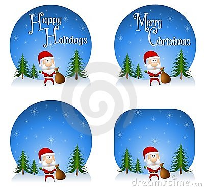 Santa Claus Backgrounds 2