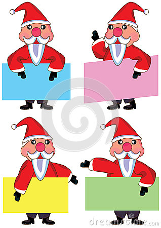 Santa Claus Card Set_eps