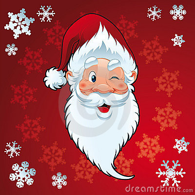 Free Santa Claus - Christmas Card Stock Images - 9728144