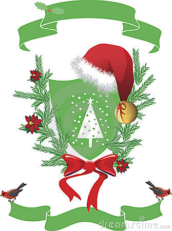 Santa Claus Coat of arm.