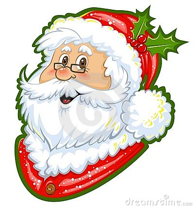 Santa Claus Color Clipart Royalty Free Stock Image - Image: 11757396