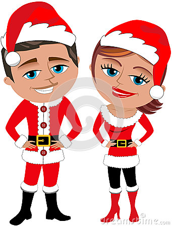 Santa Claus Couple