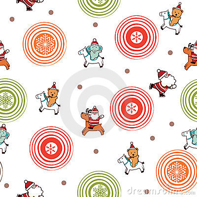 Santa Claus and Friends Pattern