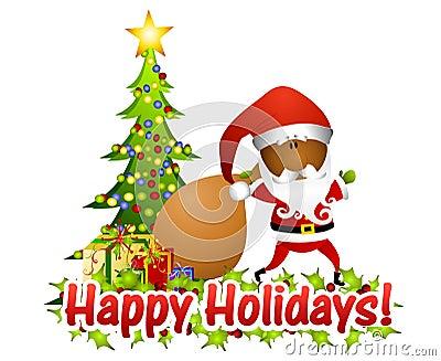 Santa Claus Greetings 2