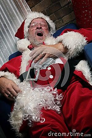 Free Santa Claus Is Yawning Stock Photography - 3373592
