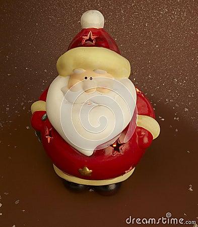 Santa claus light