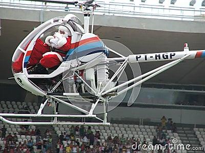Santa Claus - Maracanã Editorial Stock Image