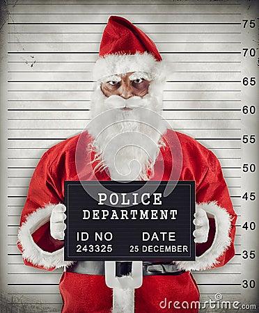Free Santa Claus Mugshot Stock Photos - 35185183