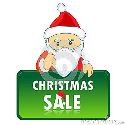 Santa claus notice